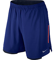 "Nike Phenom 2-in-1 7"" Laufshorts, Blue"