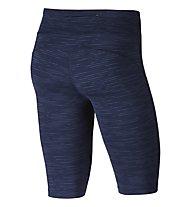 Nike Power Epic Lux - kurze Laufhose - Damen, Blue