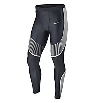 Nike Power Speed Tight pantaloni running, Black/White