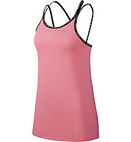 Nike Pro - top fitness - donna, Pink