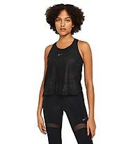 Nike Pro - top fitness - donna, Black