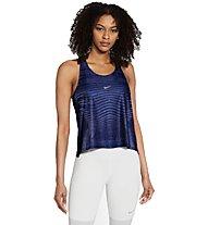 Nike Pro - Trainingstop - Damen, Blue