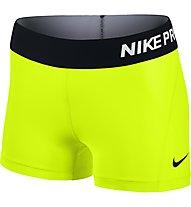 "Nike Pro 3"" Cool Short Kompression Damen, Volt/Black"