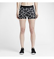 "Nike Pro 3"" Giraffe Short Frauen, Black/White"