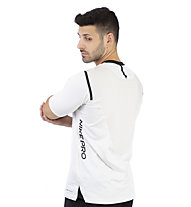 Nike Pro AeroAdapt - T-shirt fitness - uomo, White