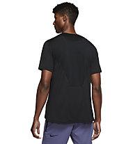 Nike Pro Breathe Men's - T-Shirt - Herren, Black