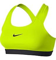 Nike Pro Classic Bra - Sport-BH, Volt/Black