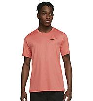 Nike Pro Dri-FIT M Sho SL - T-Shirt - Herren , Orange