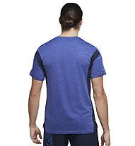 Nike Pro Dri-FIT Sho SL - T-Shirt - Herren , Blue