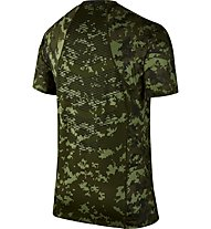 Nike Pro Hypercool - Trainingsshirt Kurzarm - Herren, Green