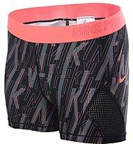 Nike Pro Hypercool Short 3In1 - Trainingshose - Damen, Black/Pink