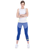 Nike Pro HyperCool Women's Tank - Top - Damen, White/Blue/Green