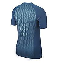 Nike Pro HyperCool Top - Fitness-Shirt Kurzarm - Herren, Blue