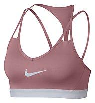 Nike Pro Indy Cooling - Sport-BH - Damen, Rose