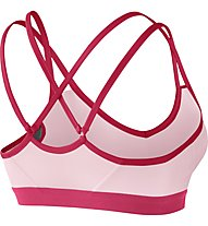 Nike Pro Indy Strappy - Funktionswäsche BH - Damen, Pink/Red