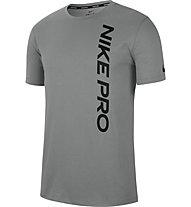 Nike Pro Men's Short-Sleeve - T-shirt - uomo, Grey