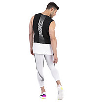 Nike Pro Men Tank - T-Shirt Training ärmellos - Herren, White/Black
