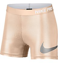 Nike Pro Rise Pack - Trainingshose kurz - Damen, Rose
