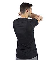 Nike Pro Short-Sleeve Top - T-Shirt Training - Herren, Black