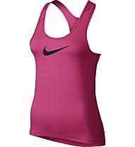 Nike Pro Tank Trainings-Top Damen, Vivid Pink/Black