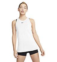 Nike Pro W's Mesh - Trägershirt Fitness -Damen, White