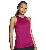 Nike Pro W's Mesh - Trägershirt Fitness -Damen, Magenta