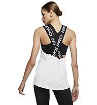 Nike Pro - Top - Damen, White