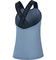 Nike Pro - Top - Damen, Light Blue