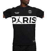 Nike PSG - Fußballshirt - Herren, Black/White