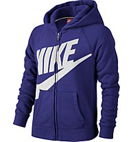 Nike Rally FZ Hoodie Sweatshirt Mädchen, Deep Night