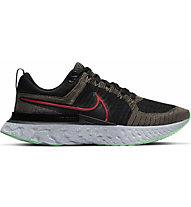 Nike React Infinity Run Flyknit 2 -  scarpe running neutre - uomo, Black/Red/Green
