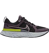 Nike React Infinity Run Flyknit 2 - Neutrallaufschuh - Damen, Black/Pink