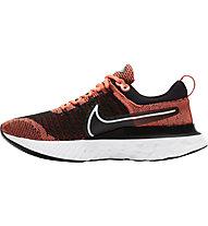Nike React Infinity Run Flyknit 2 - Neutrallaufschuh - Herren, Orange/Black