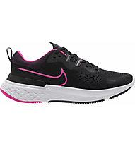 Nike  Nike React Miler 2 - Neutrallaufschuh - Damen, Black/Pink
