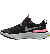 Nike React Miler Running - Neutrale Laufschuhe - Damen, Black/Silver/Violet