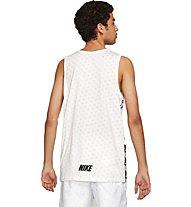 Nike Repeat - Trainingsshirt ärmellos - Herren, White