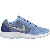 Nike Revolution 3 Youth, Light Blue/White