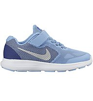 Nike Revolution 3 - Kinder Sportschuhe, Light Blue/White