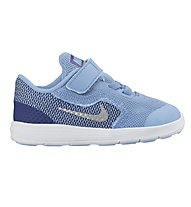 Nike Revolution 3 Toddlers' - Sportschuhe Kinder, Light Blue/White