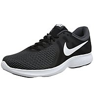 Nike Revolution 4 - scarpe running neutre - donna, Black/White