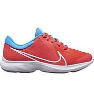 Nike Revolution 4 Disrupt (GS) - scarpe da palestra - ragazzo/a, Red/Light Blue