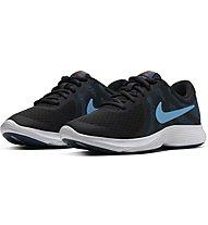Nike Revolution 4 (GS) - scarpe da palestra - ragazzo, Black/Blue