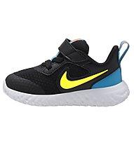 Nike Revolution 5 Baby - Sportschuhe - Kinder, Black/Yellow/Blue