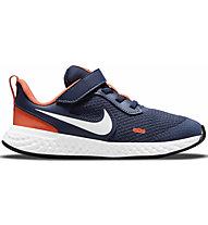 Nike Revolution 5 Little Kids - scarpe da ginnastica - bambino, Blue/Orange