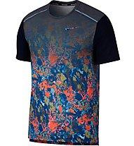 Nike Rise 365 - Laufshirt - Herren, Blue