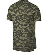 Nike Rise 365 Camo - T-Shirt Running - Herren, Green