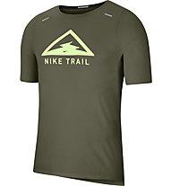 Nike Rise 365 Trail Run - maglia trail running - uomo, Green