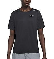 Nike Rise 365 Wild Run - Laufshirt - Herren, Black/Grey
