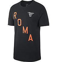Nike Roma Squad T-Shirt - Fußballtrikot - Herren, Black