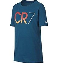 Nike Ronaldo CR7 - T Shirt - Herren, Blue